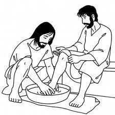 lavage de pieds
