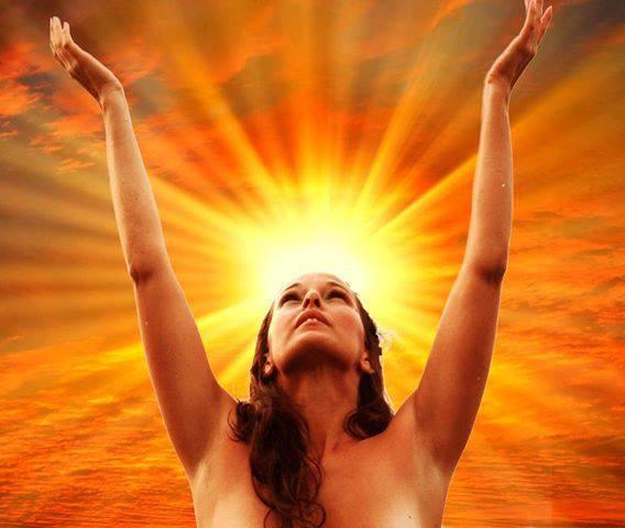femme solaire