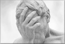 souffrances psychologiques-statue